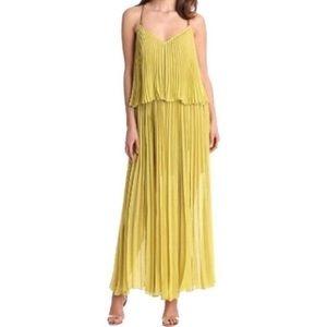 Bcbg Joelle dark lime dress